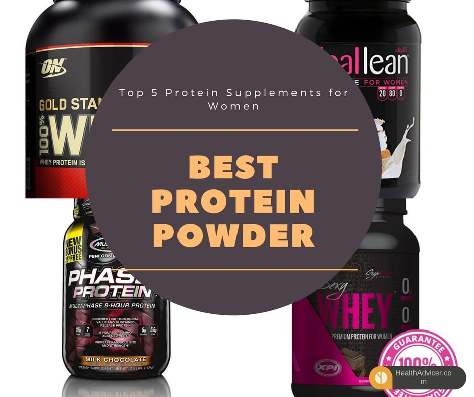 Best Protein Powder for Women - Top 5 Protein Supplements Review