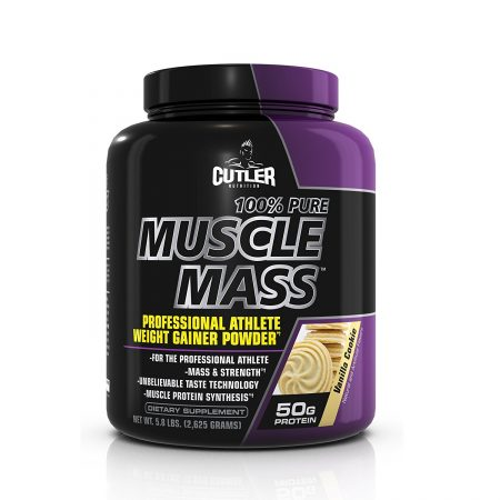 Cutler Nutrition's Muscle Mass Weight Gainer Powder