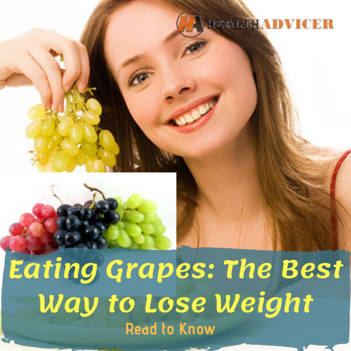 Eating Grapes: The Best Way to Lose Weight
