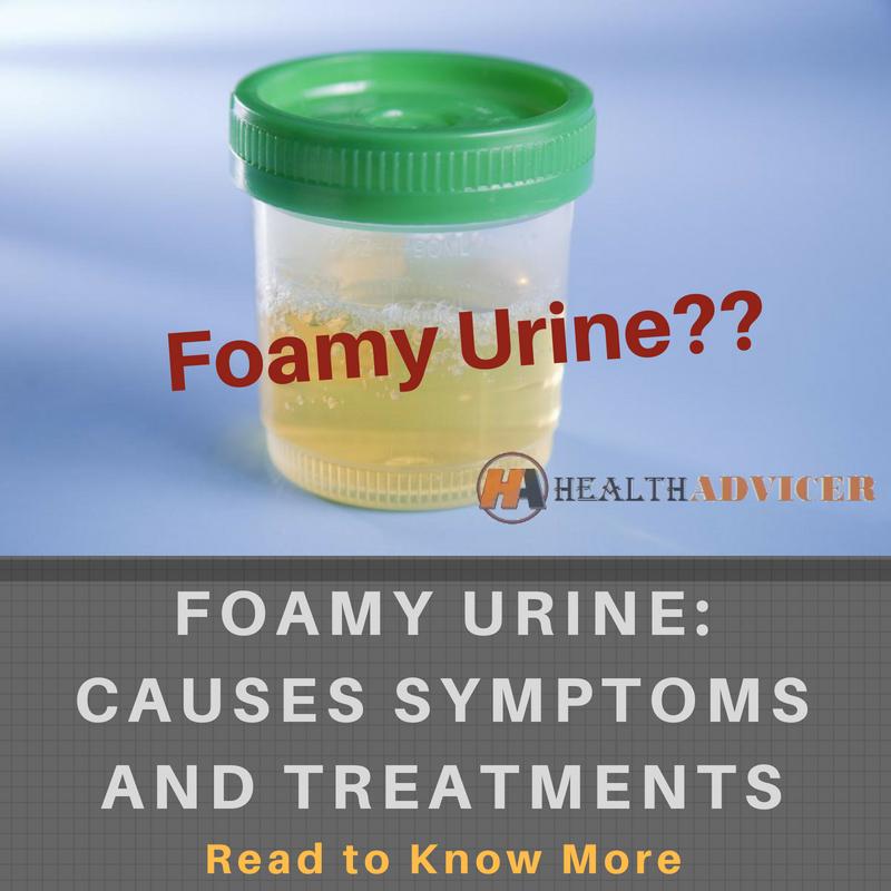 Foamy Urine