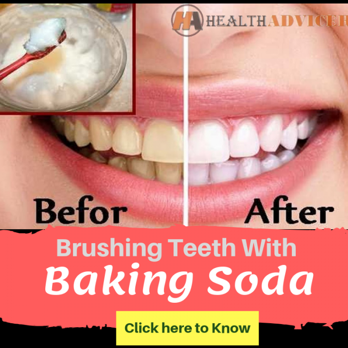 Brushing Teeth With Baking Soda