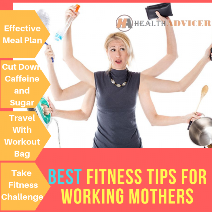FITNESS TIPS FOR WORKING MOTHERS