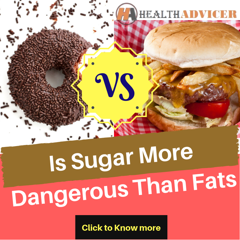 Is Sugar More Dangerous Than Fats