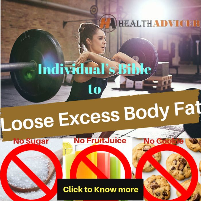 losing excess body fat