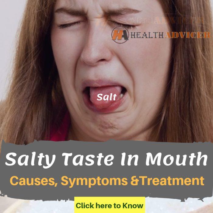 Salty Taste In Mouth
