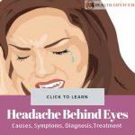 Headache Behind Eyes Picture