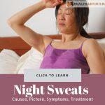 Night Sweats Cause treatment