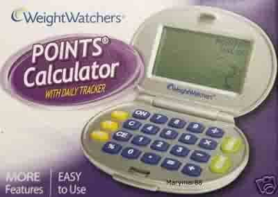 weight Watchers Electronic Tracker