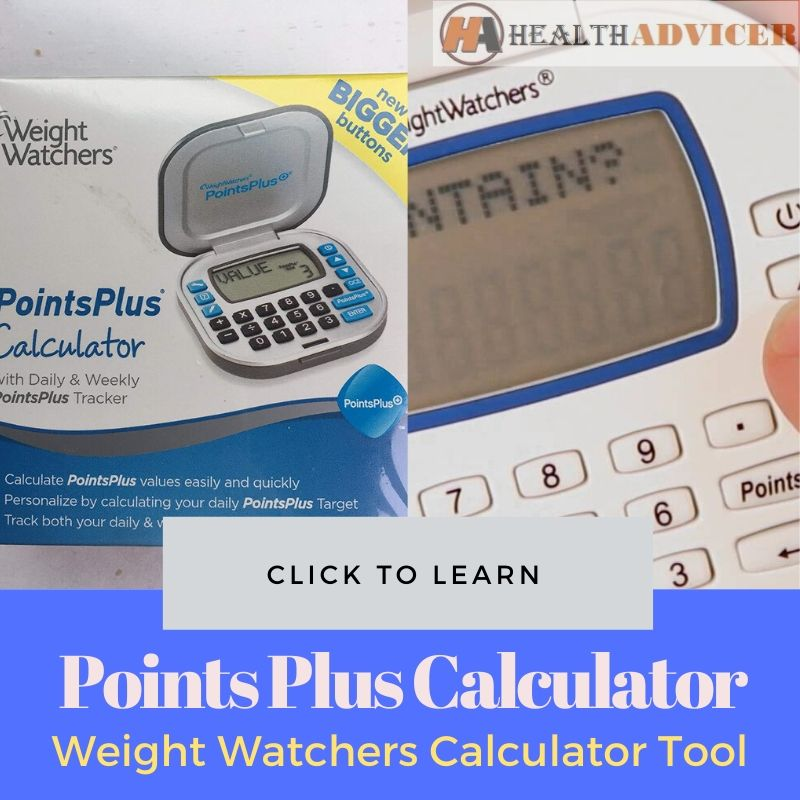 Points Plus Calculator Weight Watchers