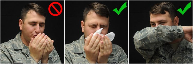 Cover Your Sneezes And Coughs